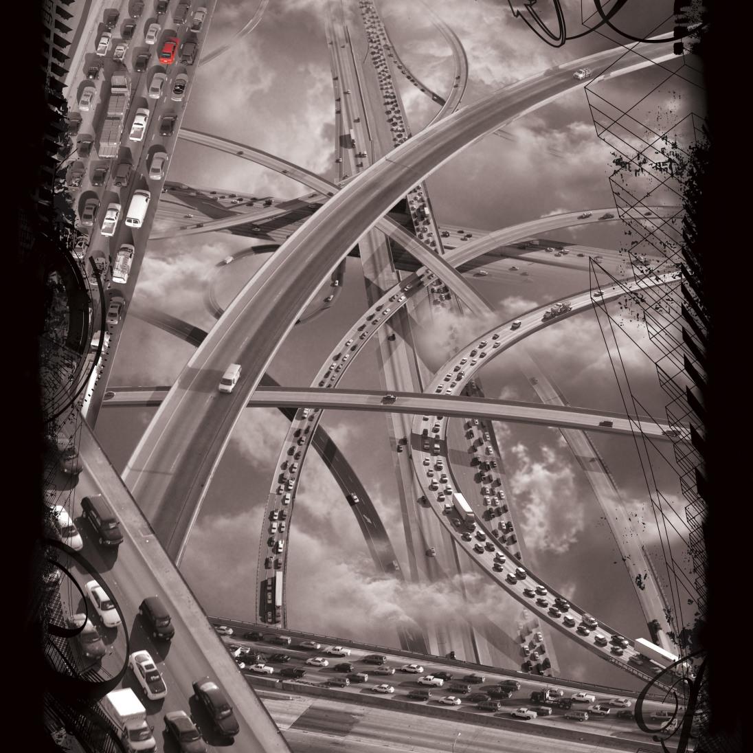 Freeway Tangle by Doug McCulloh