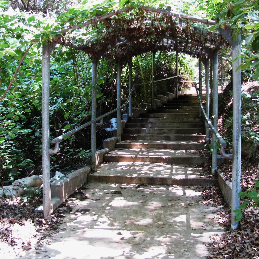 Archway to the UCR Botanic Garden by Joan Koerper