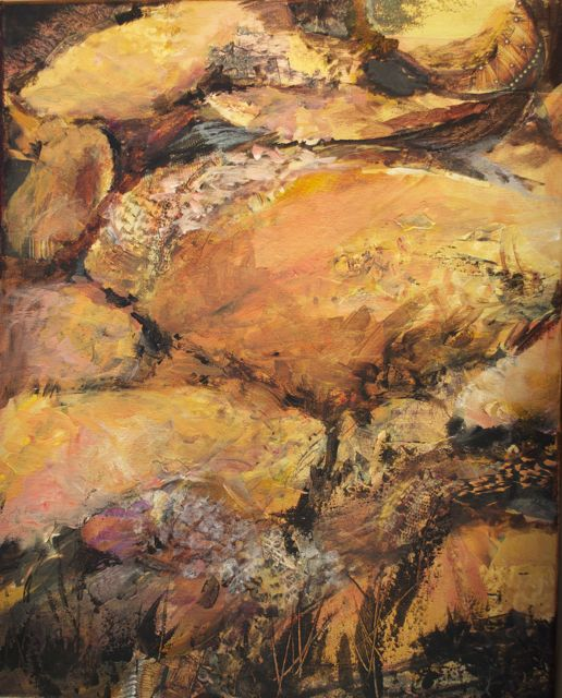Stone Face by Lavina Blossom
