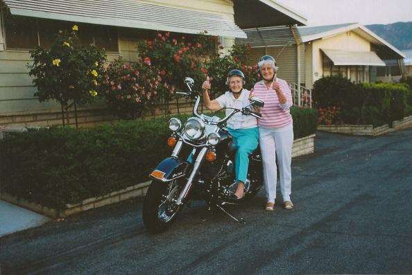 Enda Nutt and Evelyn Olson, Banning, CA by Kristin Lieberman