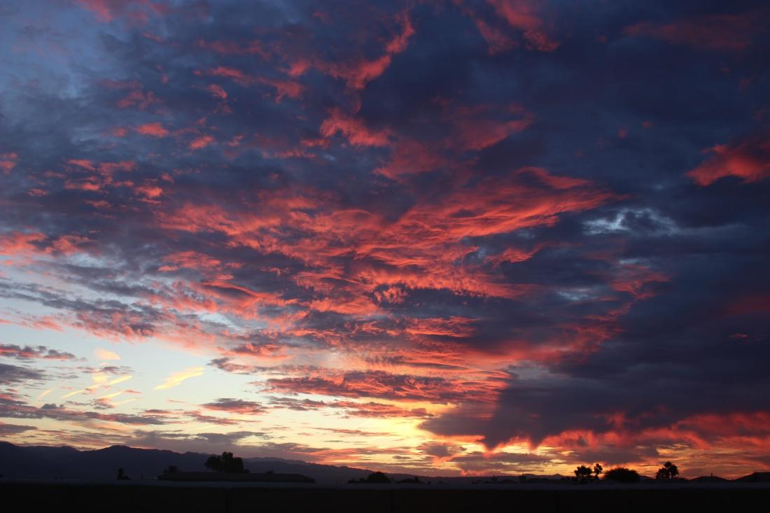 Image of desert sky